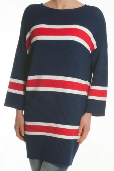 Женская кофта свитер в полоску