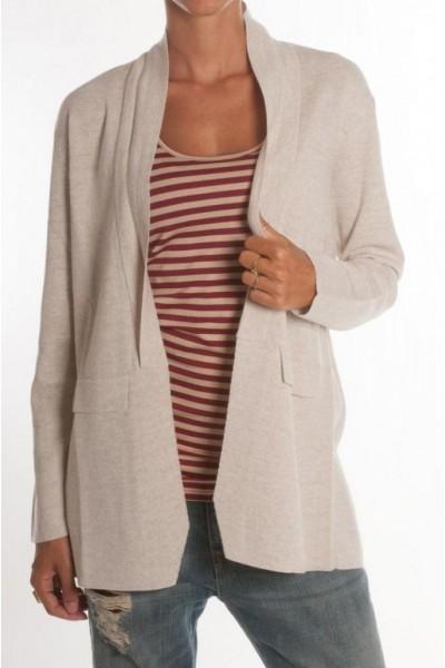 Женский пиджак светло-серый