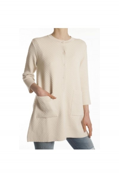 Пальто женское на пуговицах KONTATTO - 3M7053