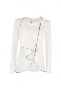 Женский пиджак белый стильный IMPERIAL - VGG3PFO