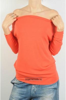 Женская кофта с открытыми плечами KONTATTO - 3M6800