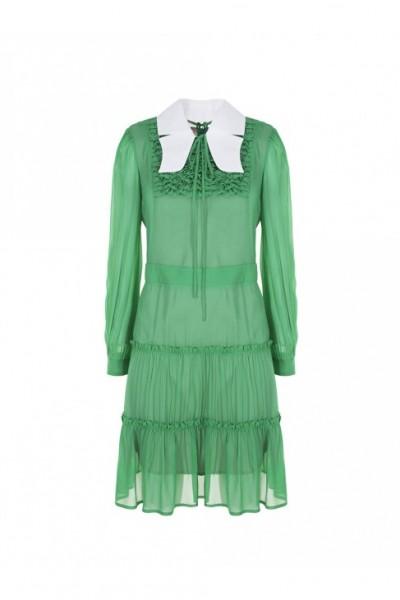 IMPERIAL Женское платье с воротником AQU8RKN