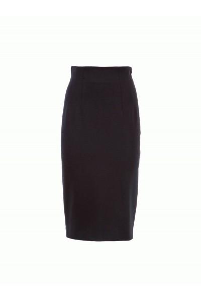 Женская юбка стильная черная IMPERIAL - GAW6OEL