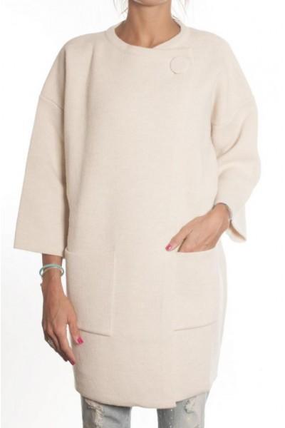 Женское пальто свободное