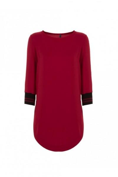 Женское платье-блуза удлиненная
