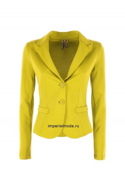 Женский пиджак желтый