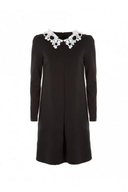 Женское платье с кружевным воротником IMPERIAL - ASM1SVZ