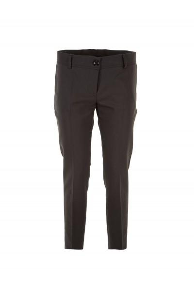 Женские брюки черные солидные