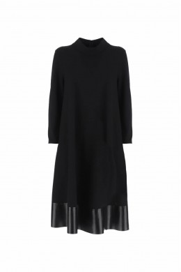 IMPERIAL Женское платье средней длины с подолом AYT7WFW