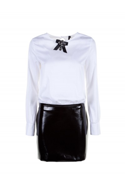 IMPERIAL Женское платье комбинированное AQQ4Q3X