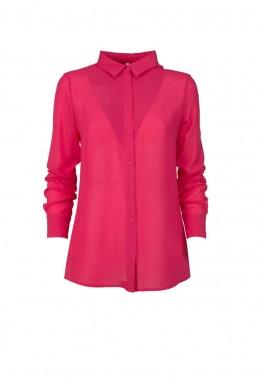 Женская блузка розовая с коротким рукавом CCE0NCP