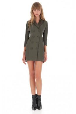 IMPERIAL Женское платье пиджак короткое двубортное AYV0WMJ